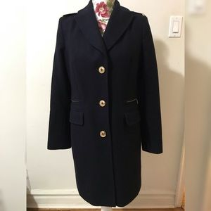 Michael Kors Pea Coat Navy